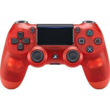 Sony Playstation Dualshock 4 Ps4 Wireless Controller (2nd Generation) Exclusive Red Crystal Edition