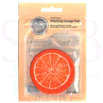 PUREDERM Vitalizing Orange Mask Pads