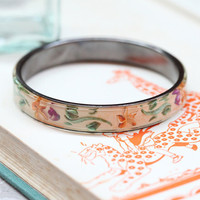 point mackenzie floral bangle - $12.99 : ShopRuche.com, Vintage Inspired Clothing, Affordable Clothes, Eco friendly Fashion