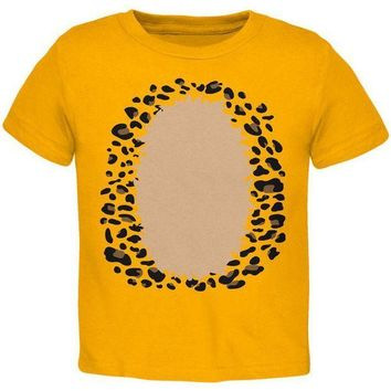 CREYCY8 Halloween Leopard Costume Toddler T Shirt