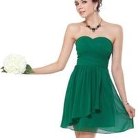 HE03647GR18, Green, 16US, Ever Pretty Sexy Summer Dresses Cocktail 03647