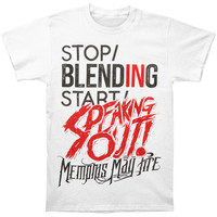 Memphis May Fire Men's  Speaking Out T-shirt Brown