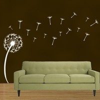 Dandelion Removable Wall Art - Extra Large