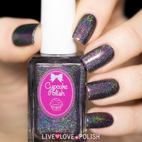 Cupcake Polish Neither Here Noir There Nail Polish
