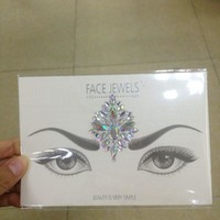 2017 Bindi Sticker Handpicked Boho And Tribal Style Face and eye Jewels Stickers