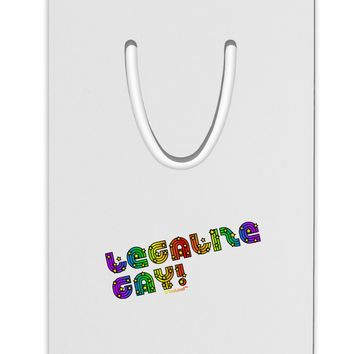 Legalize Gay - Rainbow Aluminum Paper Clip Bookmark