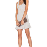 NBD x REVOLVE There's Time Ribbed Dress in Heather Grey