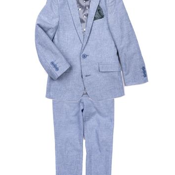 Appaman Boys' Sky Slub Mod Suit