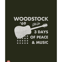 Woodstock- Guitar Poster Print by Epic Rights at AllPosters.com
