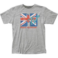 Mens MTV Union Jack Retro T-Shirt