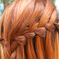 pretty braided ginger hair - Google Search