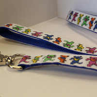 Grateful Dead Dog Leash/1 inch width/Ribbon Dog Leash/Pet Lead