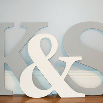 Large Wooden Letter Set Wedding guest book alternative wall hanging  wedding guest registry bridal shower gift
