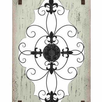 Benzara Derby Wall decor Beauteous Elegantly Etched Creation