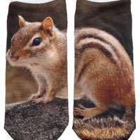 CHIPMUNK SOCKS