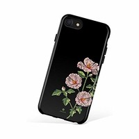 iPhone 6/6s case for Girls, Akna Collection High Impact Flexible Silicon Case for Both iPhone 6 & iPhone 6s [Embroidery Hibiscus](741-U.S)