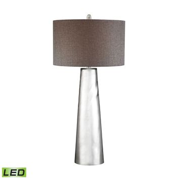 D2779-LED Tapered Cylinder Mercury Glass LED Table Lamp - Free Shipping!