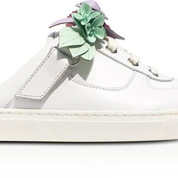 Sophia Webster White Leather Lilico Jessie Sneakers