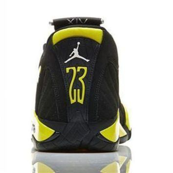 ONETOW Cheap Air Jordan 14 Retro Men Shoes Thunder