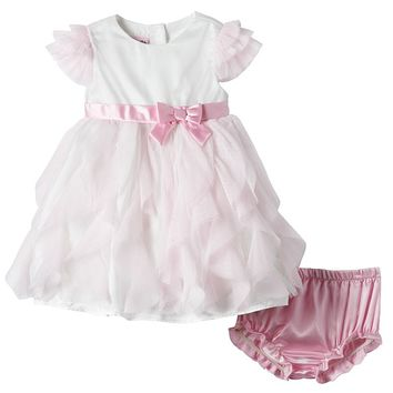 Nannette Cascade Tulle Dress - Baby Girl, Size: