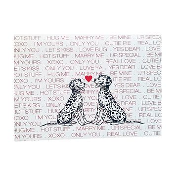 Puppy Love Valentine's Card - 5 pack