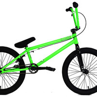 2016 Colony Emerge Complete Bmx Bike Bright Green/Black
