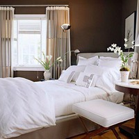 Dreamy Chamber decor / brown  white