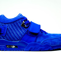 Nike Air Trainer Cruz PRM QS - Victor Cruz 'Rush Blue'