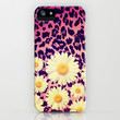 Wild Flowers 3 - for Iphone iPhone & iPod Case by Simone Morana Cyla