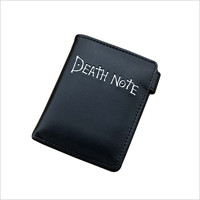 Death Note Simple Wallet with Button