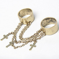The Cross Double Ring