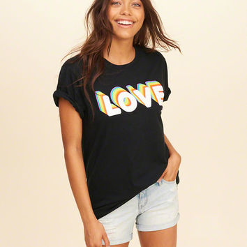 Girls Hollister Pride Collection Graphic Tee | Girls New Arrivals | HollisterCo.com