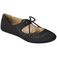 Women's Mossimo Supply Co. Layne Flats - Black