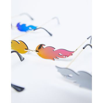 Flaming Chrome Sunnies