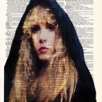 Witchy Stevie Nicks- Cool Poster Print- Rock N Roll Poster- 1970s Music- Fleetwood Mac Poster- Husband GIFT- Birthday Gift-  Boyfriend Gift