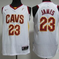 Best Sale Online Nike NBA Basketball Jersey Cleveland Cavaliers # 23 LeBron James