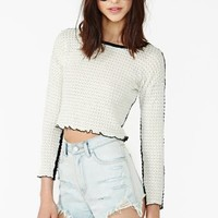 Double Time Crop Top