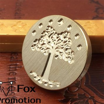 Hot Lord of the rings wax seal stamp head,Scrapbooking DIY Ancient Seal Retro Stamp,Vintage tree of gondor High Quality