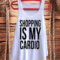 Shopping Is My Cardio mean girls best design for Tank top mens and Tank top Girls fashion