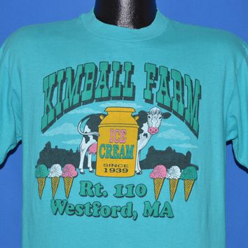 80s Kimball Farm Massachusetts Ice Cream t-shirt Large