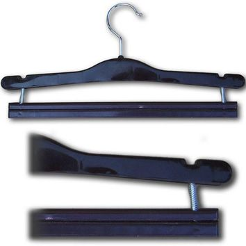 HG-040 Pants Hanger with Spring Loaded Bar