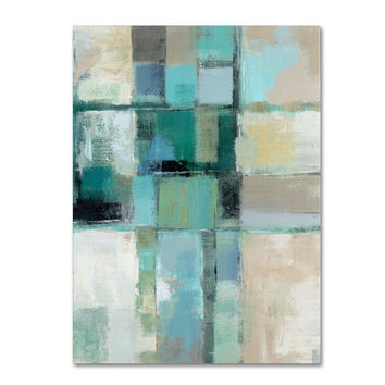 Silvia Vassileva 'Island Hues Crop II' Canvas Art   Overstock.com Shopping - The Best Deals on Gallery Wrapped Canvas