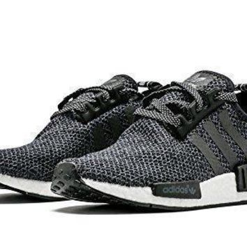NEW Adidas NMD R1 Champ Exclusive Black Reflective 3M WOOL RARE BA7842 adidas nmd wom