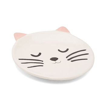 Smiling Cat Trinket Dish