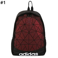ADIDAS Tide brand clover men and women diamond backpack backpack #1