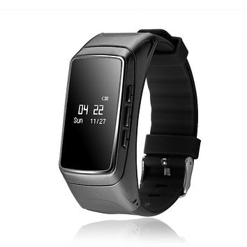 2 in 1 Sports Fitness Tracker and Phone - Smart Bracelet Wristband+Bluetooth to Answer Phone, Fitness Tracker, Heart Rate, Monitor Pedometer