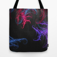 Cool Winds Abstract Tote Bag by Charma Rose