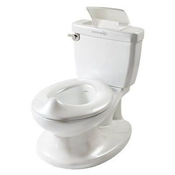 Infant, Toddler My Size Potty Training Chair Seat Toilet w Lid n Flush For Boys n Girls