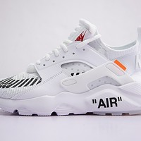 Virgil Abloh OFF WHITE x Nike Air Huarache Ultra AA3841-100