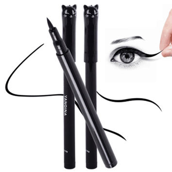 NEW Cat Style Black Waterproof Liquid Eyeliner Pen - Cosmetic Beauty Tool